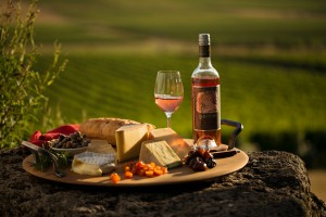 Cheese platter with Rose